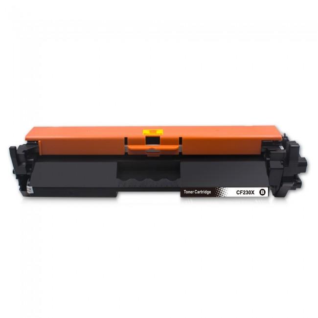HP CF230X Συμβατό Toner  ME CHIP (3500 ΣΕΛΙΔΕΣ)   Συμβατό με : HP LaserJet Pro M203 Series / M203dn M203dw / HP LaserJet Pro MFP M220 Series / M227 Series / M227fdn / M227fdw / M227sdn