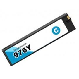 ΣΥΜΒΑΤΟ HP 976Y Cyan Extra High Yield (L0R05A) 16K 240ml HP Pagewide pro 552dn / 552dw / 577dw / 577z  / P55250dw / P57750dw